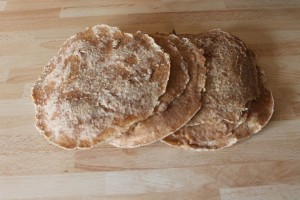 gesunde Snacks - Dinkelfladenrezept 2