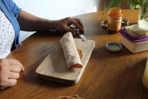 gesunde Snacks - Dinkelfladenrezept 7
